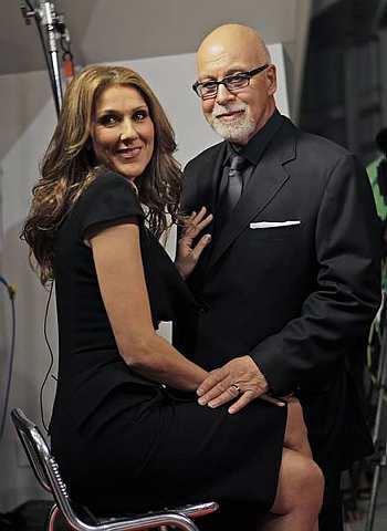 Celine Dion dan suaminya, Rene Angelil.