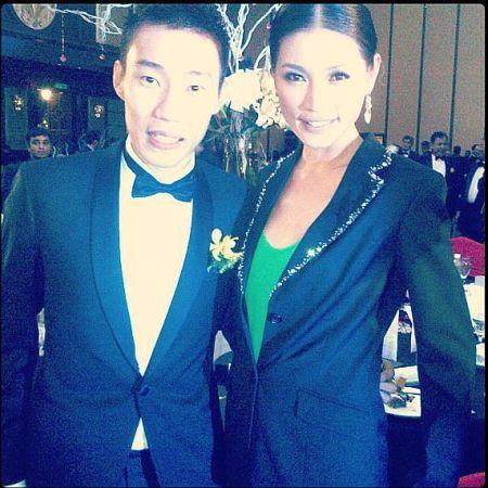 Chong Wei dan Amber Chia - Foto: redcarpet.net.my