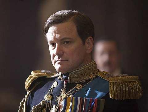 Collin Firth dalam filem The King's Speech