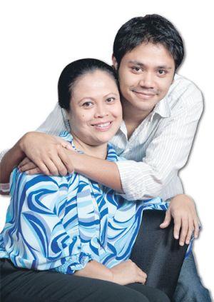 Khatijah Tan mendoakan agar jodoh Pierre Andre bersama isterinya, Siti Nur Hidayah berkekalan.