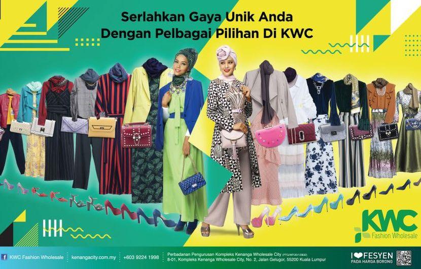 Muslimah Tampak Chantikbergaya Dengan Berbelanja Di Kwc Fashion Wholesale Klik Mstar