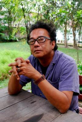 Dain Said mahu fokus pada filem Bunohan yang akan ditayangkan di pawagam bermula 8 Mac depan. - Foto oleh K.C.VALARMATHY