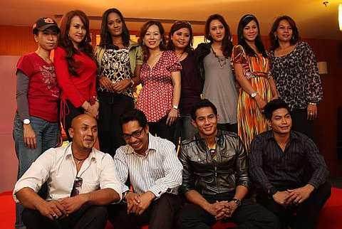 Barisan pelakon Bila Musang Berjanggut. Foto The Star Oleh KEVIN TAN