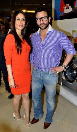 Saif Ali Khan dan Kareena Kapoor telah menjalinkan hubungan cinta selama lima tahun.
