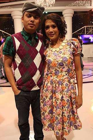 Ash dan Dira, di saat-saat bahagi dalam program Sehati Berdansa 3.
