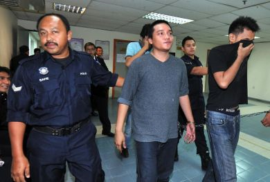 Gambar fail Benjy didakwa atas tuduhan memiliki dadah seberat 4.7 gram dadah jenis pada Jun lalu. - FotoBERNAMA