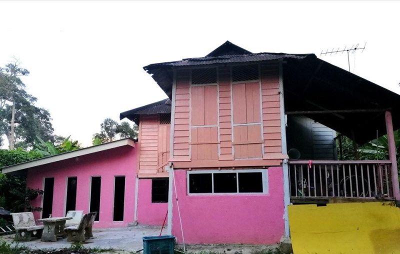 Pink Di Sana Sini Rumah Pusaka Usang