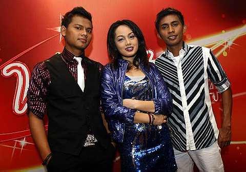 Siapa bakal bergelar juara? Dari kiri: Adi, Nani dan Mohd.