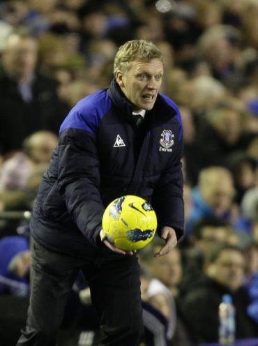 Pasukan Everton yang dipimpin Pengurus David Moyes berjaya menyekat kemaraan City di Goodison Park.