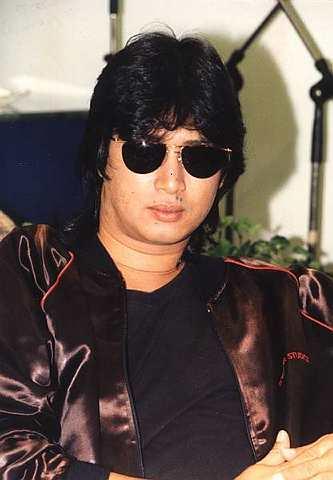 Penyanyi Aman Shah. Gambar ini dirakamkan pada tahun 1994.