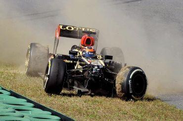 Raikkonen mengalami kemalangan pada sesi latihan bebas pertama GP Formula 1 Korea.