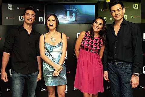 Dari kiri: Jason Godfrey, Angelique Teo, Hannah Al Rashid dan David Lee.