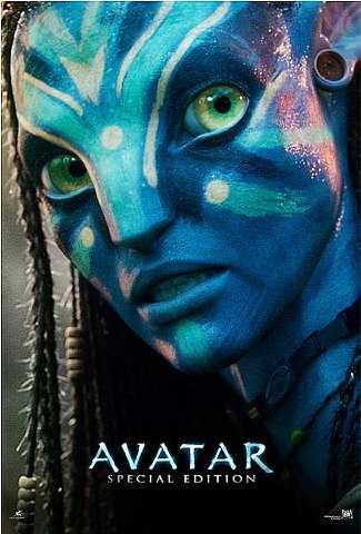 Poster filem Avatar: Edisi Khas yang bakal ditayangkan di semua pawagam 3D 26 Ogos ini.