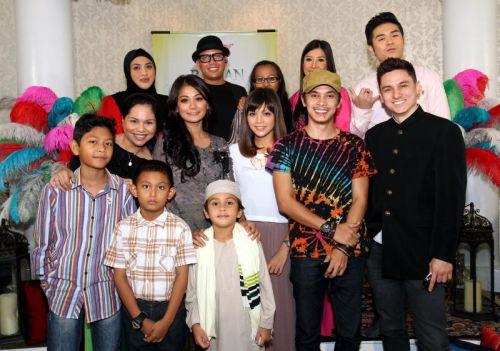 Antara barisan artis yang terlibat dalam pelbagai program Ramadan di TV3. - Foto ART CHEN
