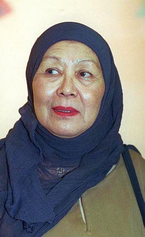 Gambar fail wajah Umi Kalthum yang dirakamkan pada 2011.