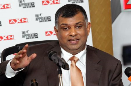 Tony Fernandes jadi hos The Apprentice Asia. Foto SHAARI CHEMAT