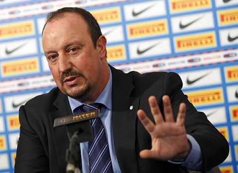 Benitez tidak terikat dengan mana-mana kelab selepas meninggalkan Inter Milan.