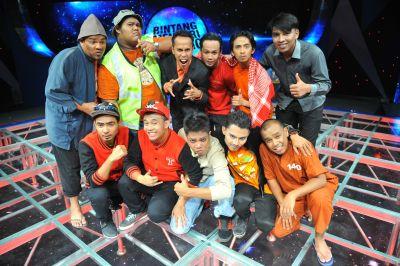 Enam peserta Bintang Mencari Bintang yang bertanding.