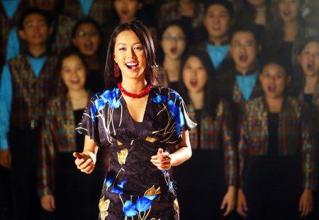 Syafinaz Selamat selaku Pengarah Artistik dan Vokal Konsert Dir...