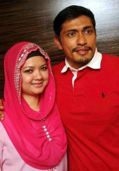 Adi Putra dan Aida masih lagi ingin hidup bersama sebagai pasangan suami isteri. Foto SHAARI CHE MAT
