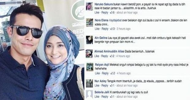 Ayda Jebat Minta Kontroversi Fotonya Dengan Zul Ariffin Tidak Disensasikan Hiburan Mstar