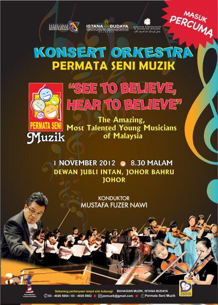 Persembahan istimewa itu akan berlangusng pada 1 November ini di Dewan Jubli Intan, Johor Bahru, Johor bermula 8.30 malam.