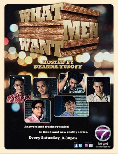 Program What Men Want membawa pulang anugerah Rancangan Realiti Terbaik.
