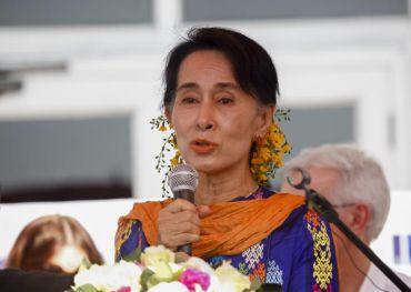 Suu Kyi. Foto EPA