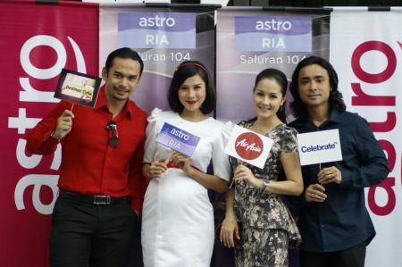 Astro papar dua program khas untuk pasangan berkahwin menerusi kempen Semarak Cinta. Foto AHMAD MOHSIN DADAMEAH