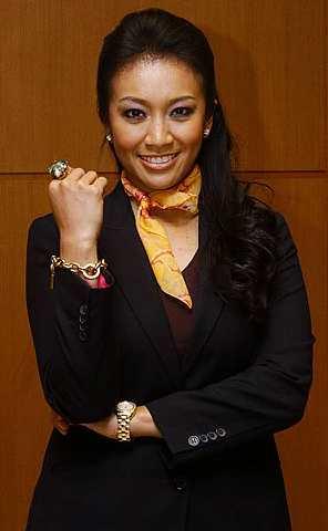 Pengacara baru program Nona, Fara Fauzana. - Foto THE STAR oleh ELLIS KHAN