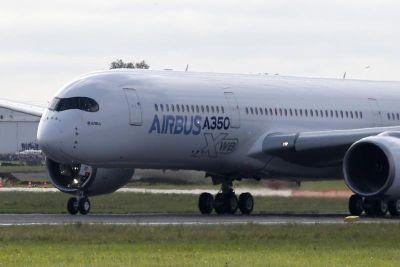 Pesawat Airbus A350. Foto EPA