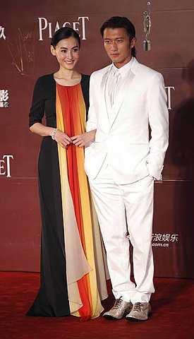 Cecilia Cheung dan suaminya, Nicholas Tse.