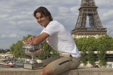 Nadal bakal mengetuai barisan kontinjen Sepanyol pada Sukan Olimpik di London Julai ini.