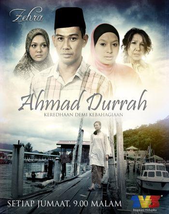 Drama 13 episod Ahmad Durrah mula disiarkan pada 17 September lalu, setiap hari Jumaat jam 9 malam.