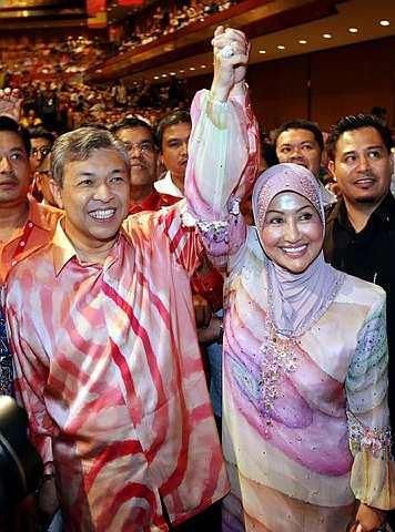 Saat manis kemenangan Zahid merupakan hadiah ulang tahun perkahwinan beliau dan isterinya yang ke-31.