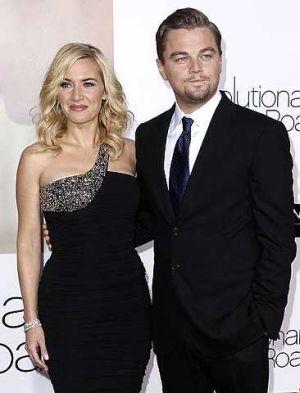 Kate Winslet terpikat dengan Leonardo DiCaprio.