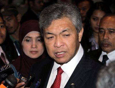 Ahmad Zahid.