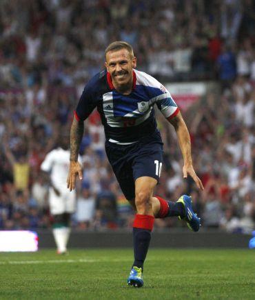 Bellamy turut menjaringkan gol untuk Britain pada aksi menentang Senegal di Sukan Olimpik baru-baru ini.