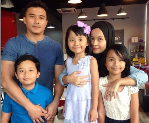 Tiga Anak Punca Aaron Aziz Berjaya Pertahankan Rumah Tangga - Hiburan    mStar