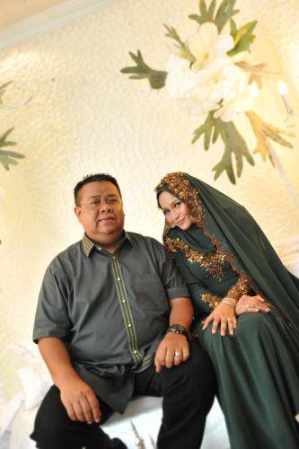 Anne Ngasri selamat bertunang dengan Mohd Sumali Reduan pada 11 November lalu. FOTO IHSAN Hazelnart studio (Natrah Md Jan).