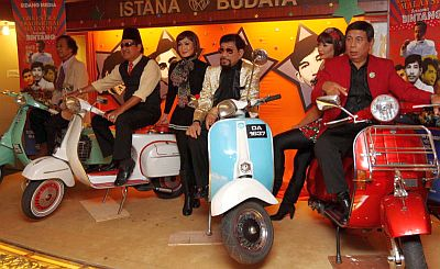 Barisan bintang artis 60-an