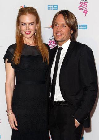 Nicole dan suaminya, penyanyi Keith Urban.