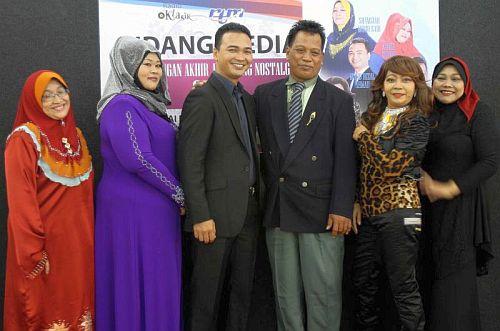 Enam peserta akhir Bintang Nostalgia 2013 yang terpilih untuk berentap pada 16 Disember ini.